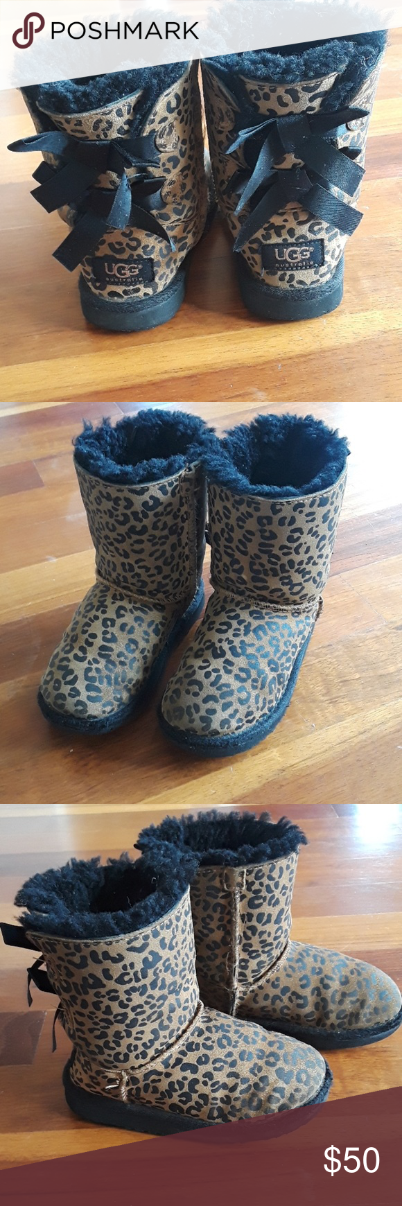 UGG bailey cheetah tie boots size 11 Girls size 11 ugg bailey boots. Very cute and trendy! Some light fabric missing as photoed in last picture of right boot. UGG Shoes Boots #uggbootsoutfitblackgirl UGG bailey cheetah tie boots size 11 Girls size 11 ugg bailey boots. Very cute and trendy! Some light fabric missing as photoed in last picture of right boot. UGG Shoes Boots #uggbootsoutfitblackgirl
