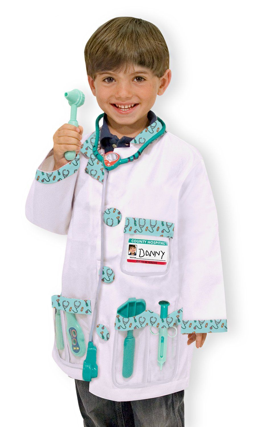 Amazon Com Melissa Doug Doctor Role Play Costume Set