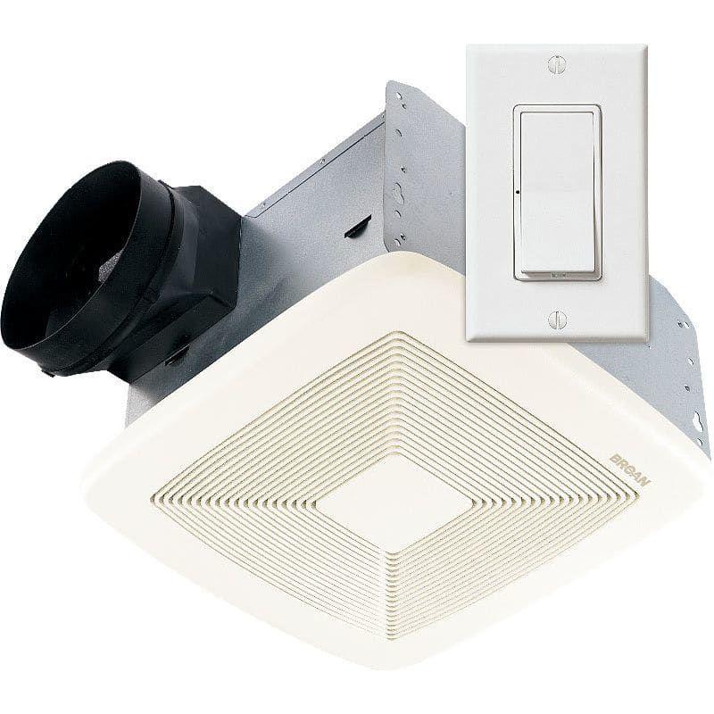 Broan Ssqtxe080 Whole House Ventilation Bathroom Exhaust Fan Fan