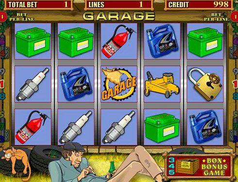 онлайн игры игровые автоматы гараж