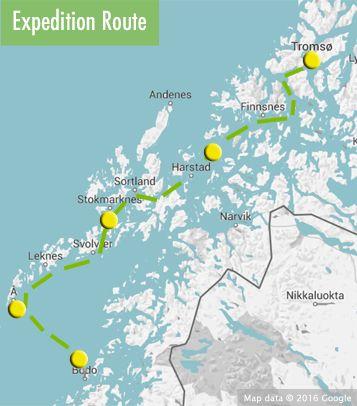 Troms to Bod the Lofotens August 19 September 1 2017 Starts in