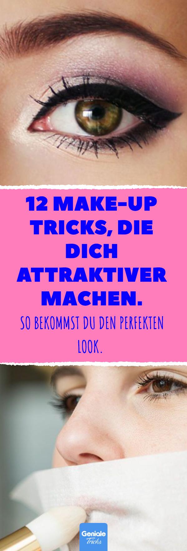 12 astuces de maquillage qui vous rendent plus attrayant. Donc, vous obtenez le parfait Loo …