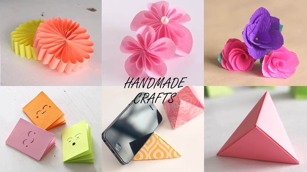 Handmade Craft Ideas Diy Videos Ventuno Art Youtube