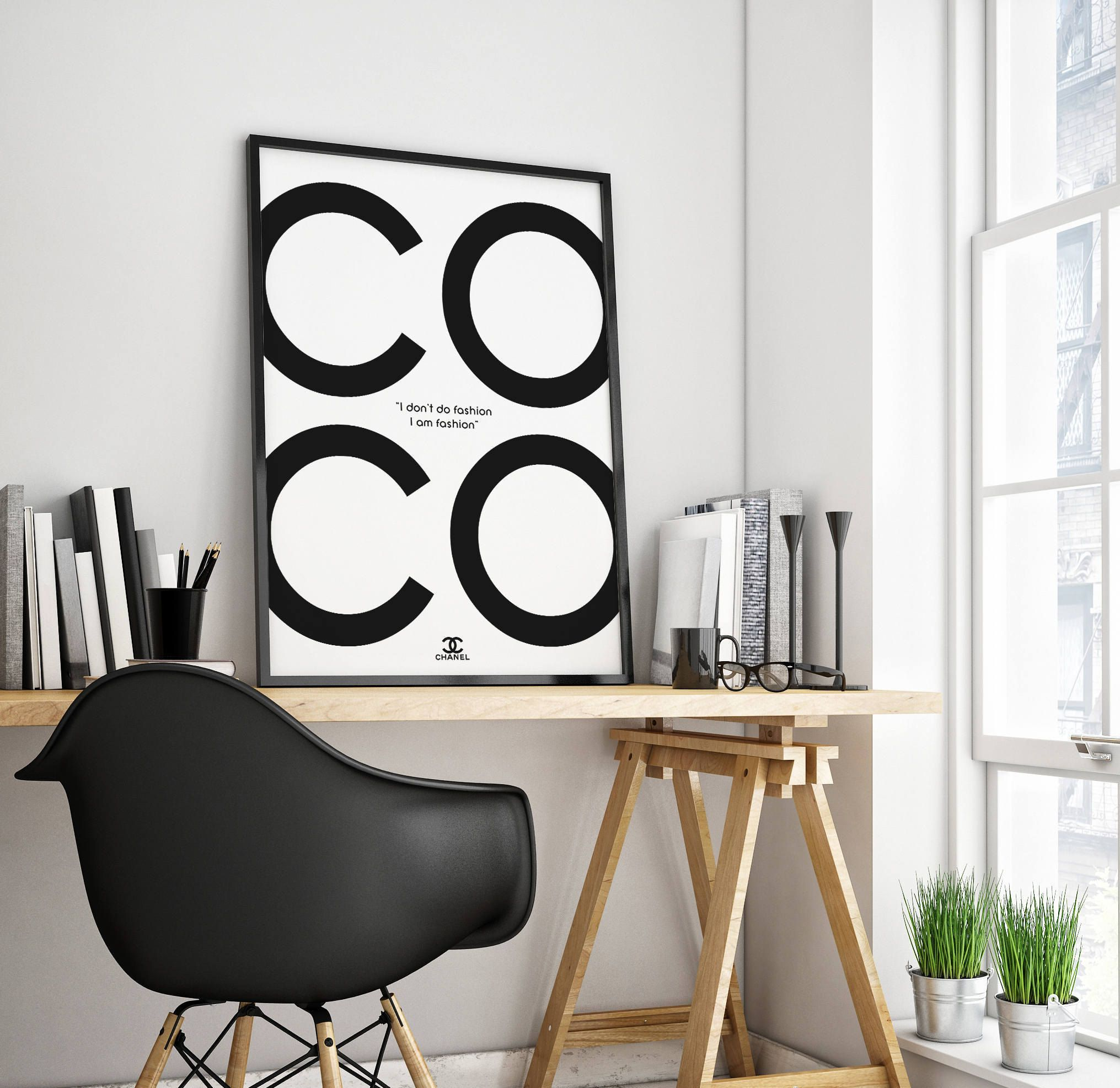 Chanel, Chanel Poster, Chanel Print, Coco Chanel Print, Chanel Wall
