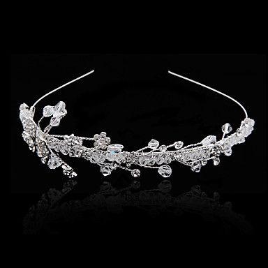 Elegant Brass Pannebånd med Imitation Pearl og Rhinestone for bryllup / Spesielle anledninger Headpieces – NOK kr. 195