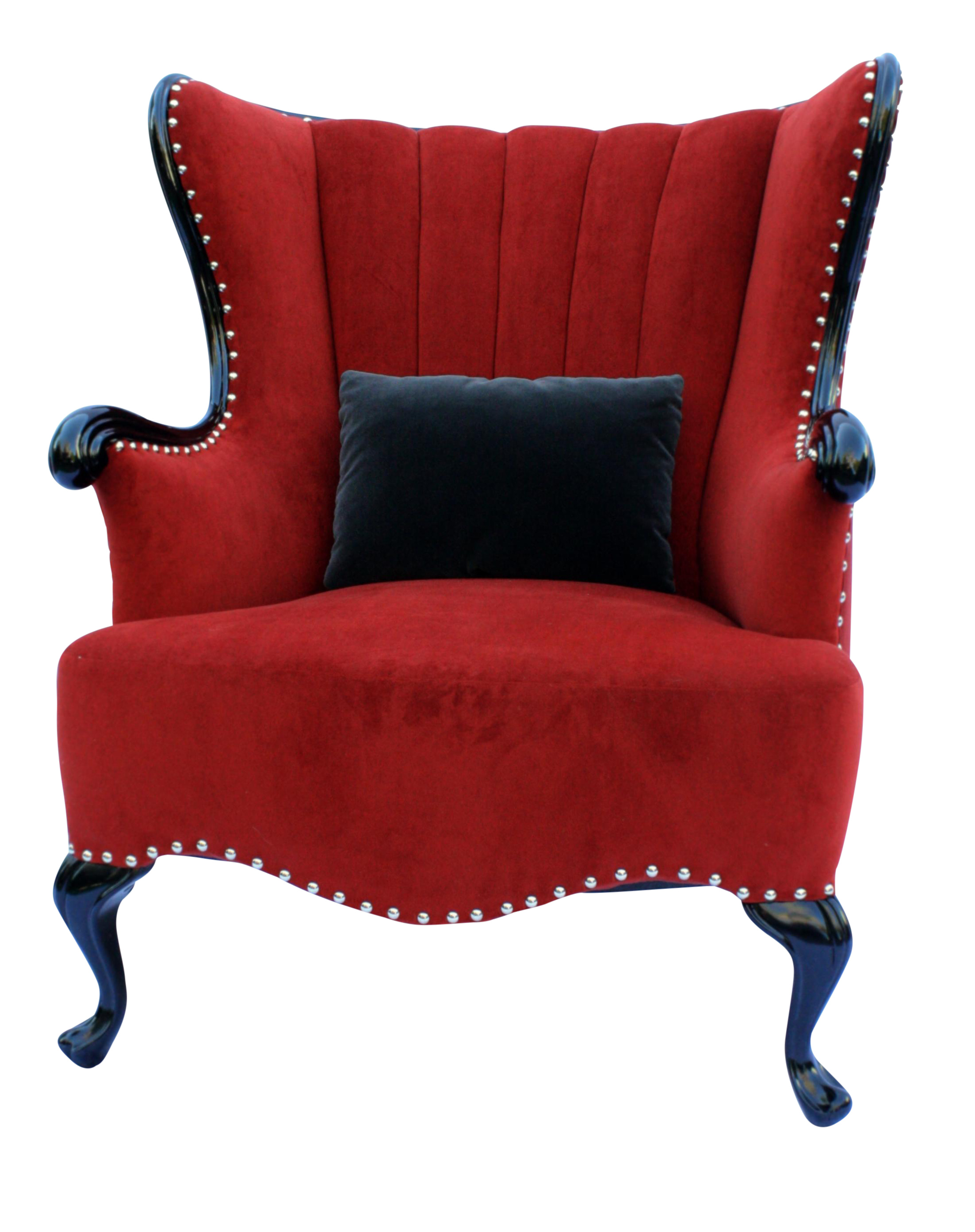 Vintage Channel Wing Back Chair Upholstered Chairs Diy Wingback
