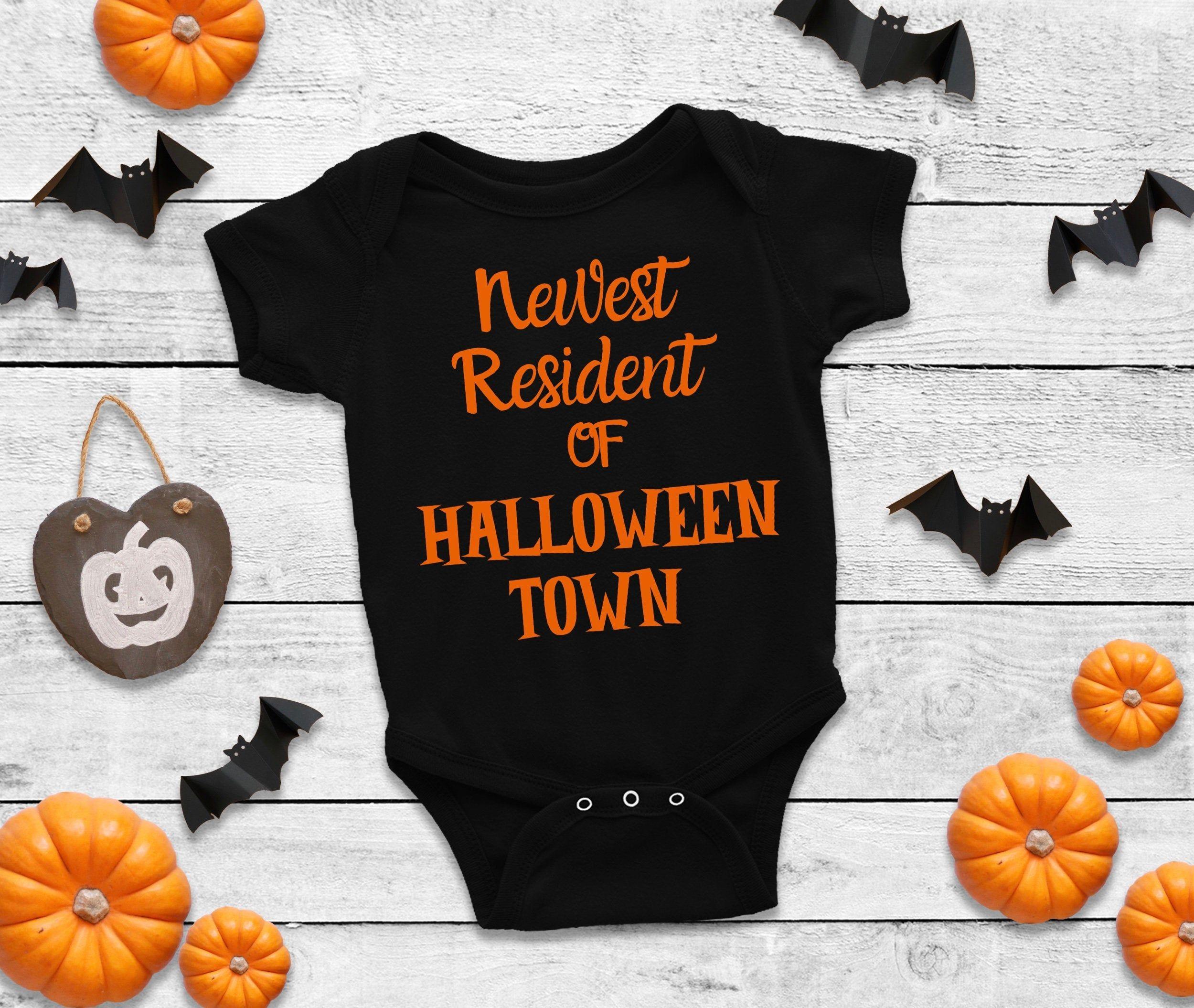 This Is Halloween Bodysuit Halloween Shirt Halloween Gift, Baby Shower Gift Halloween Bodysuit