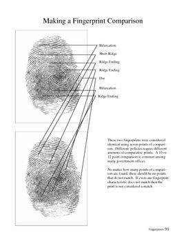 Forensic Science Fingerprinting Unit In 2020 Forensic Science Forensics Cool Science Fair Projects