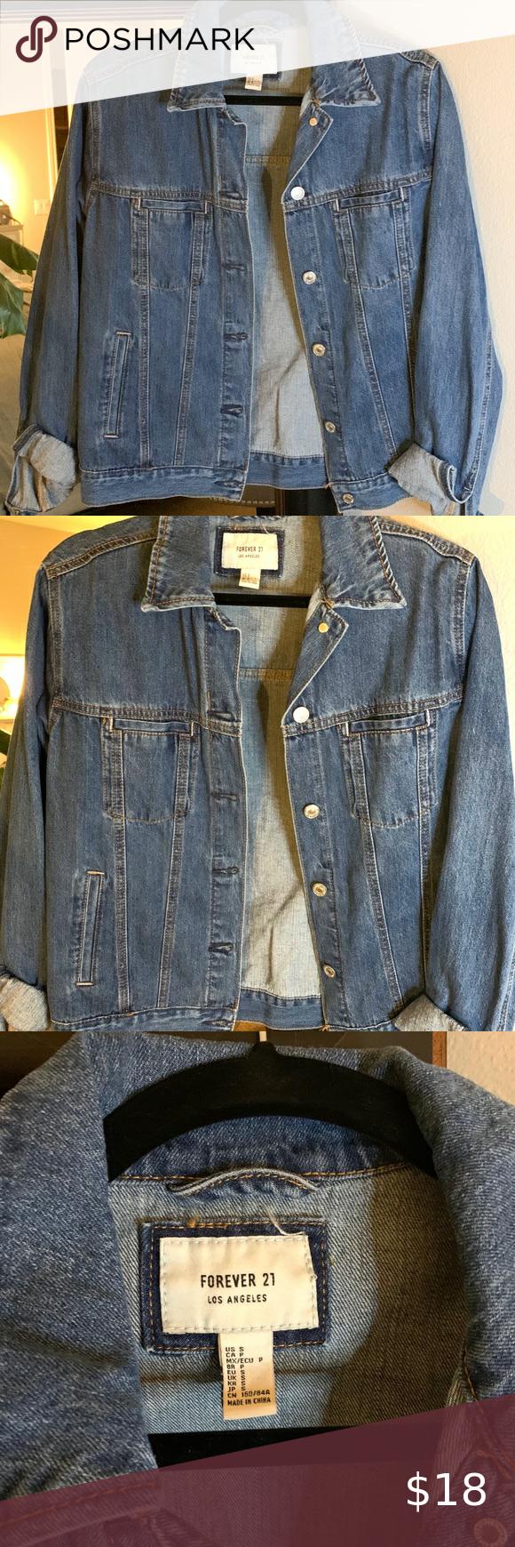 Forever 21 Jean Jacket In 2020 Dark Wash Denim Jacket Jean Jacket Forever 21 Jacket Coats [ 1740 x 580 Pixel ]