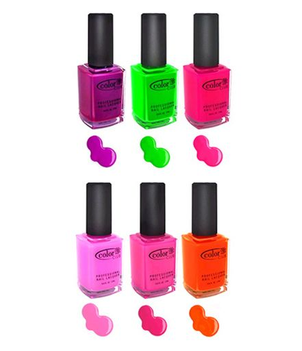 Color Club | color club neon nail polish | In Living Color 2 ...