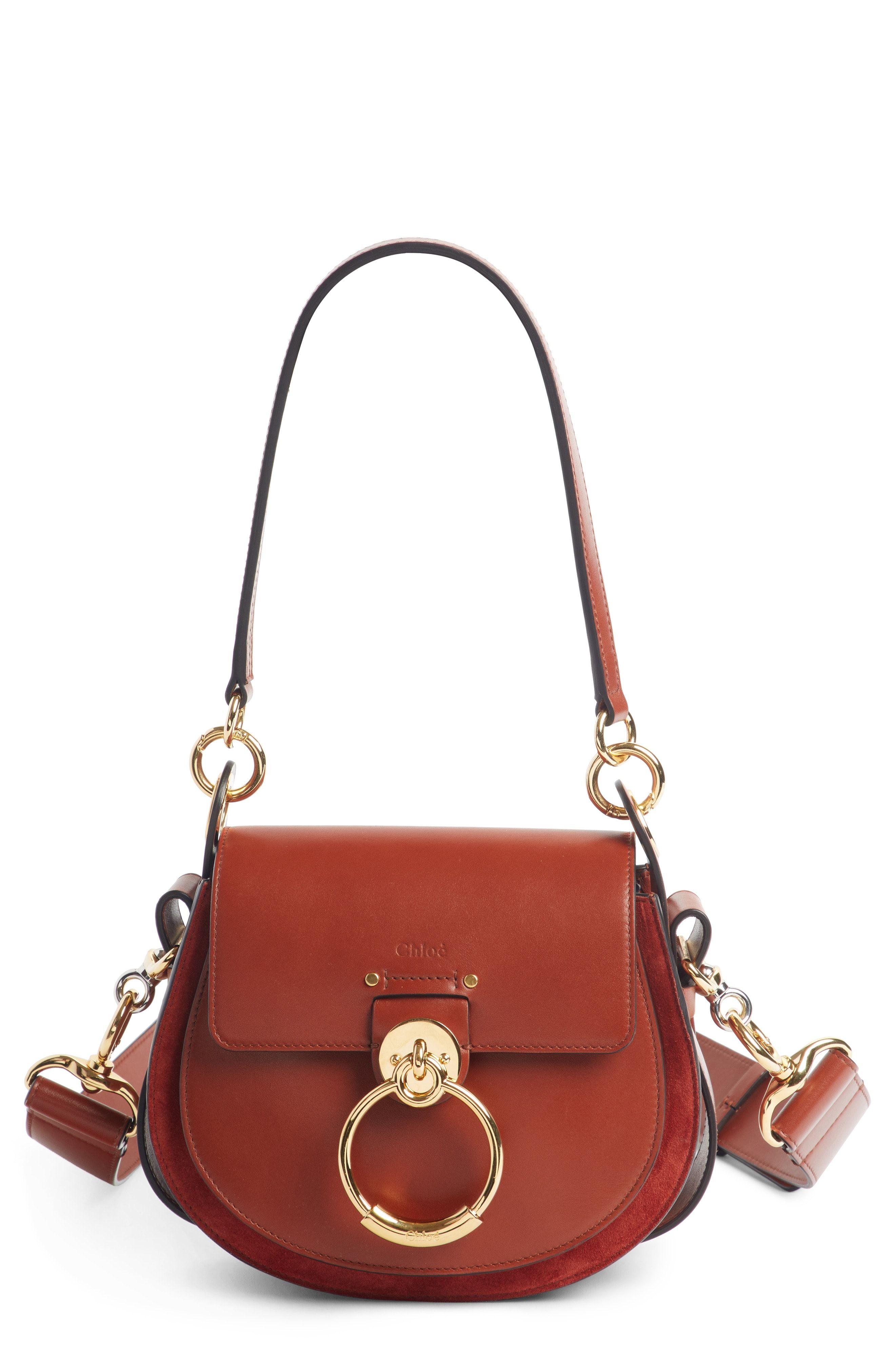 b27391acbdf5 Obsessed! Chloé Small Tess Calfskin Leather Shoulder Bag
