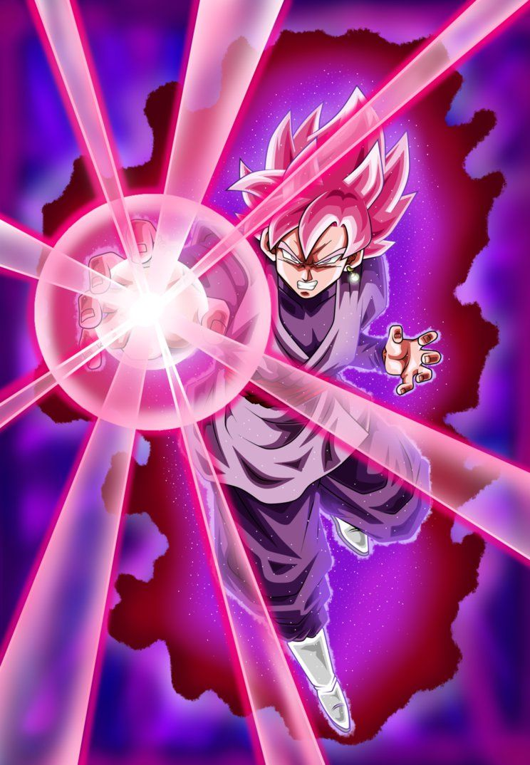Black Goku Super Saiyan Rose Poster By Nekoar On Deviantart