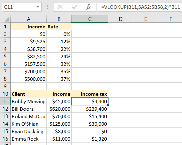 29+ Excel formulas for accounting worksheet Top