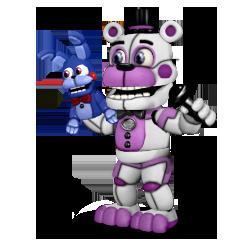 Adventure Funtime Freddy V5 Non Simplistic By Blackfoxpixels Fnaf Fnaf Sister Location Fnaf Characters