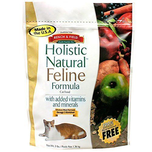 Bench Field Holistic Natural Feline Formula 3 Lbs By Bench And Field Want Additional Info Click On The Image Cat Food Cat Food Allergy Cat Food Coupons