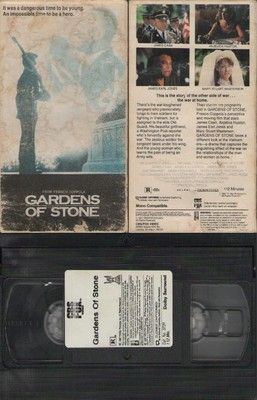 Garden Of Stone Movie Gardens of stone vhs james caan anjelica huston james earl jones gardens of stone vhs james caan anjelica huston james earl jones workwithnaturefo