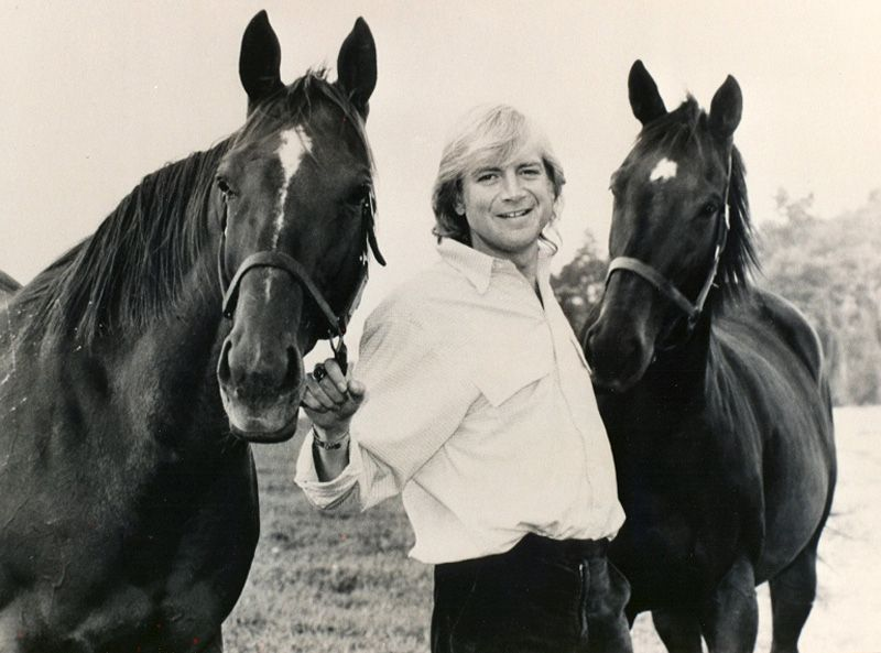 Justin Hayward (Lead singer, guitar for The Moody Blues)  - One of my favorite photos of Justin <3