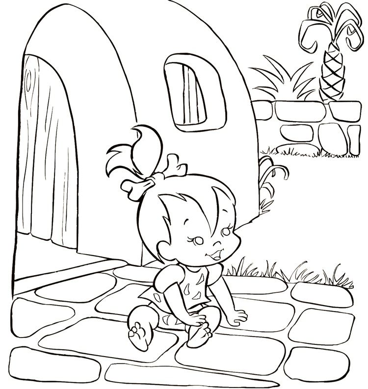 Flintstones Coloring Page | Coloring pages and Printables ...