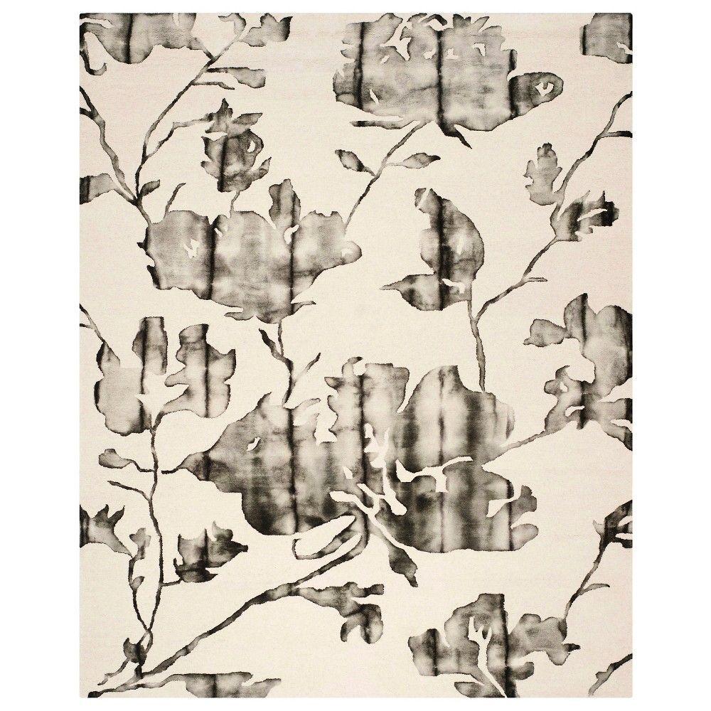 Safavieh Derald Area Rug - Ivory/Charcoal (Ivory/Grey) (8'x10')
