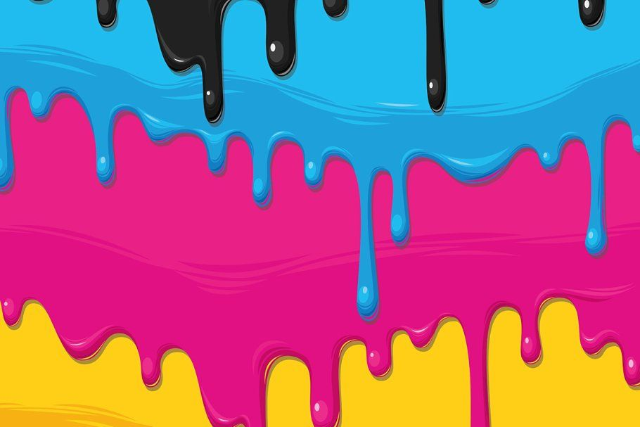 dripping paint card  drip painting paint cards drawing