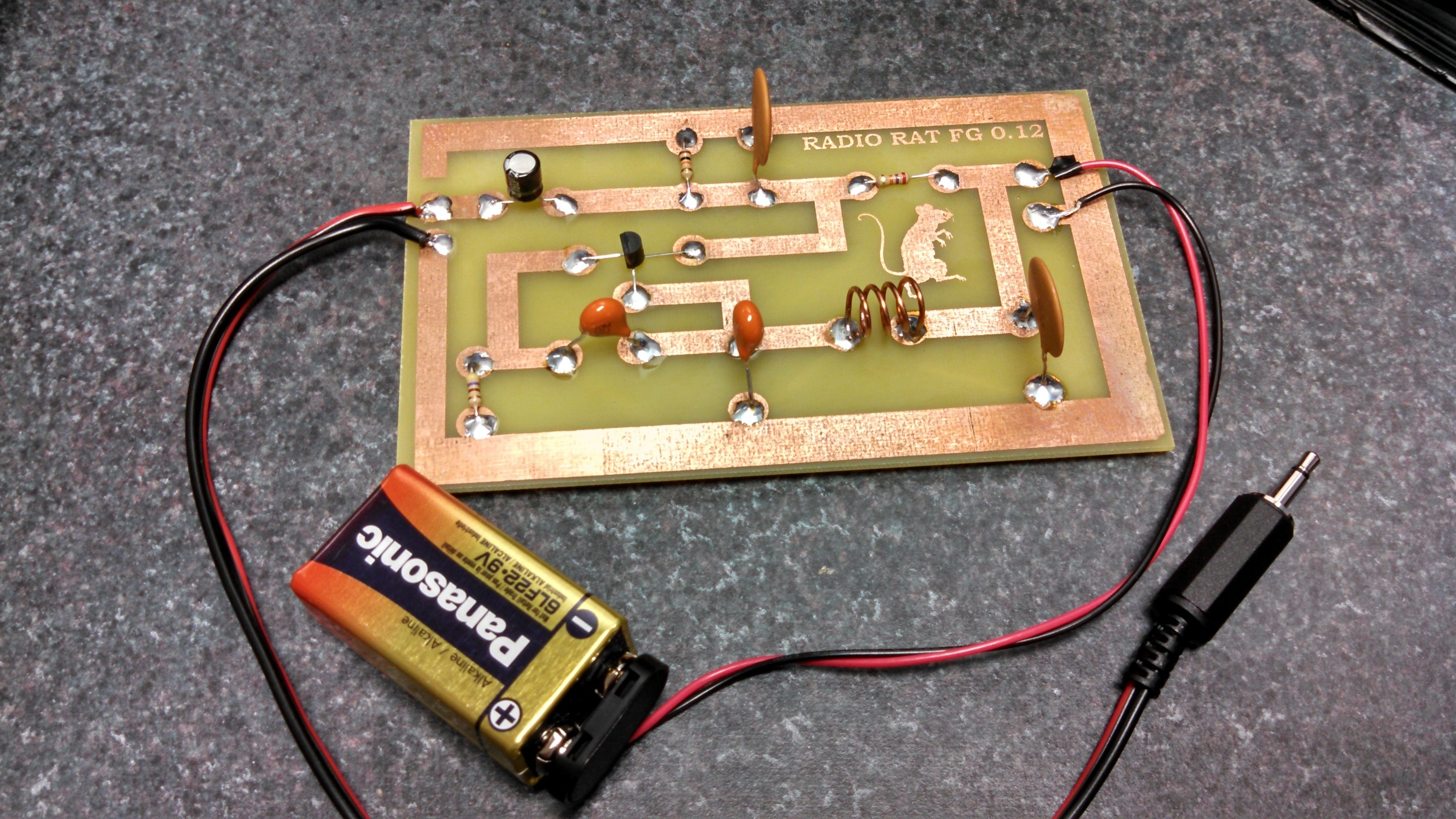 Super Simple iPod FM Transmitter Electronic circuit