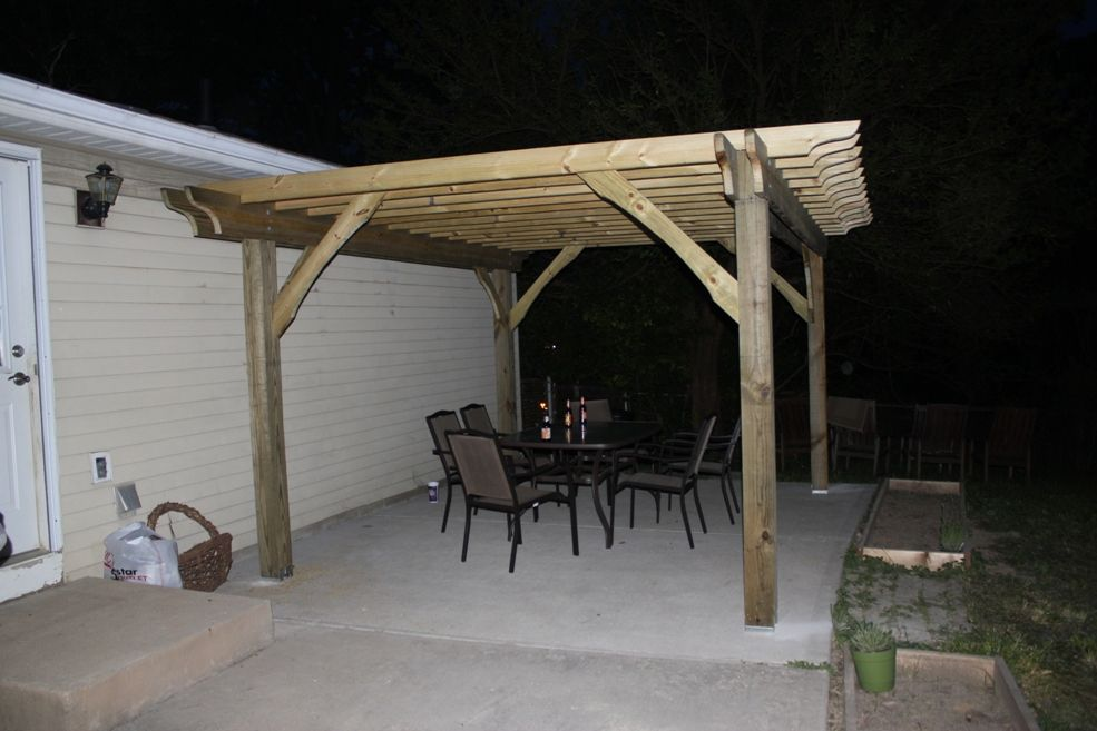 How to build a great pergola in two days for 500. Check