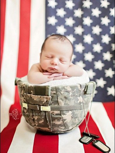Newborn military i love this good thing we have my hubs kevlar d