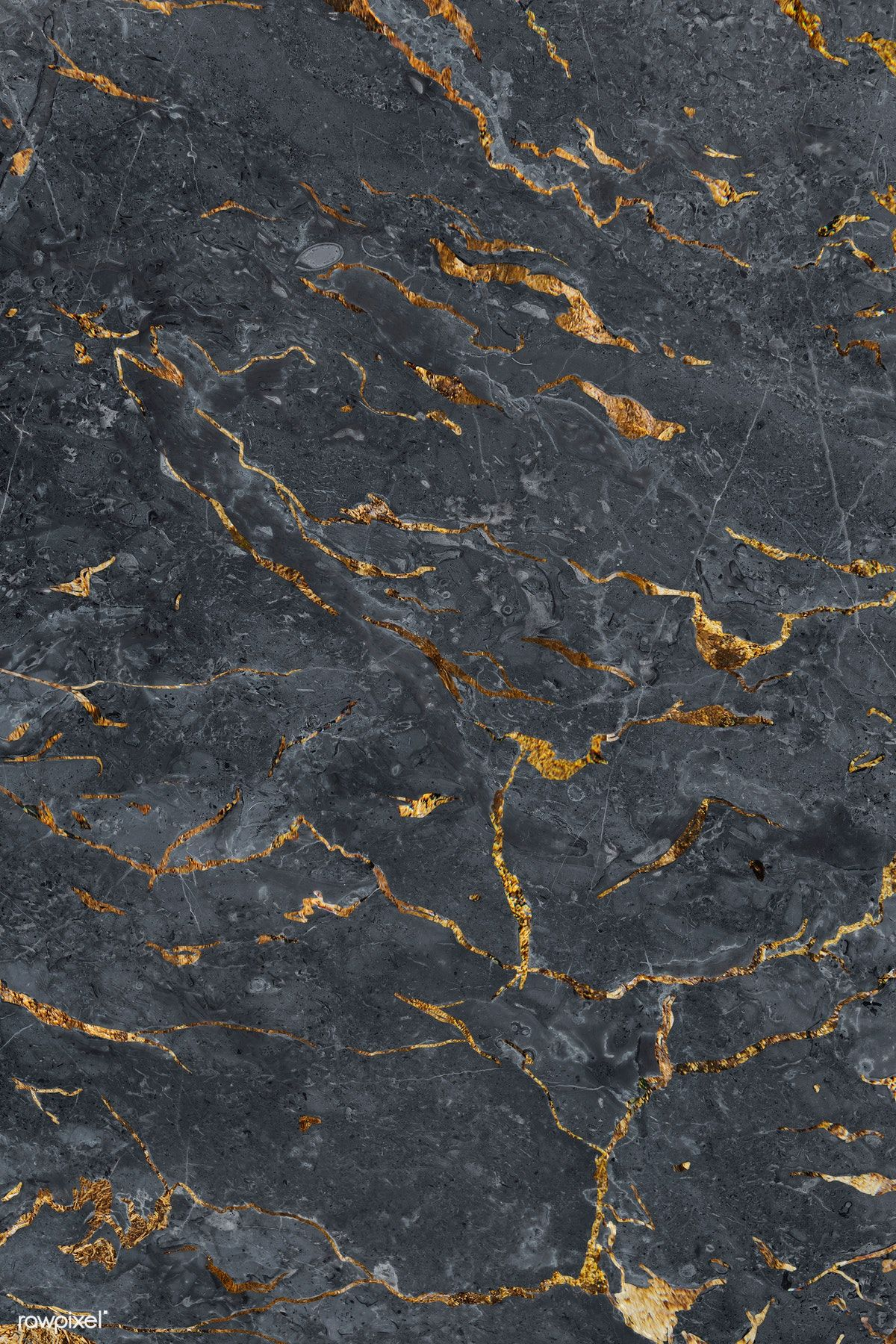 Download Premium Illustration Of Gray Marble Textured Mobile Phone Black Marble Background Marble Texture Gold Texture Background