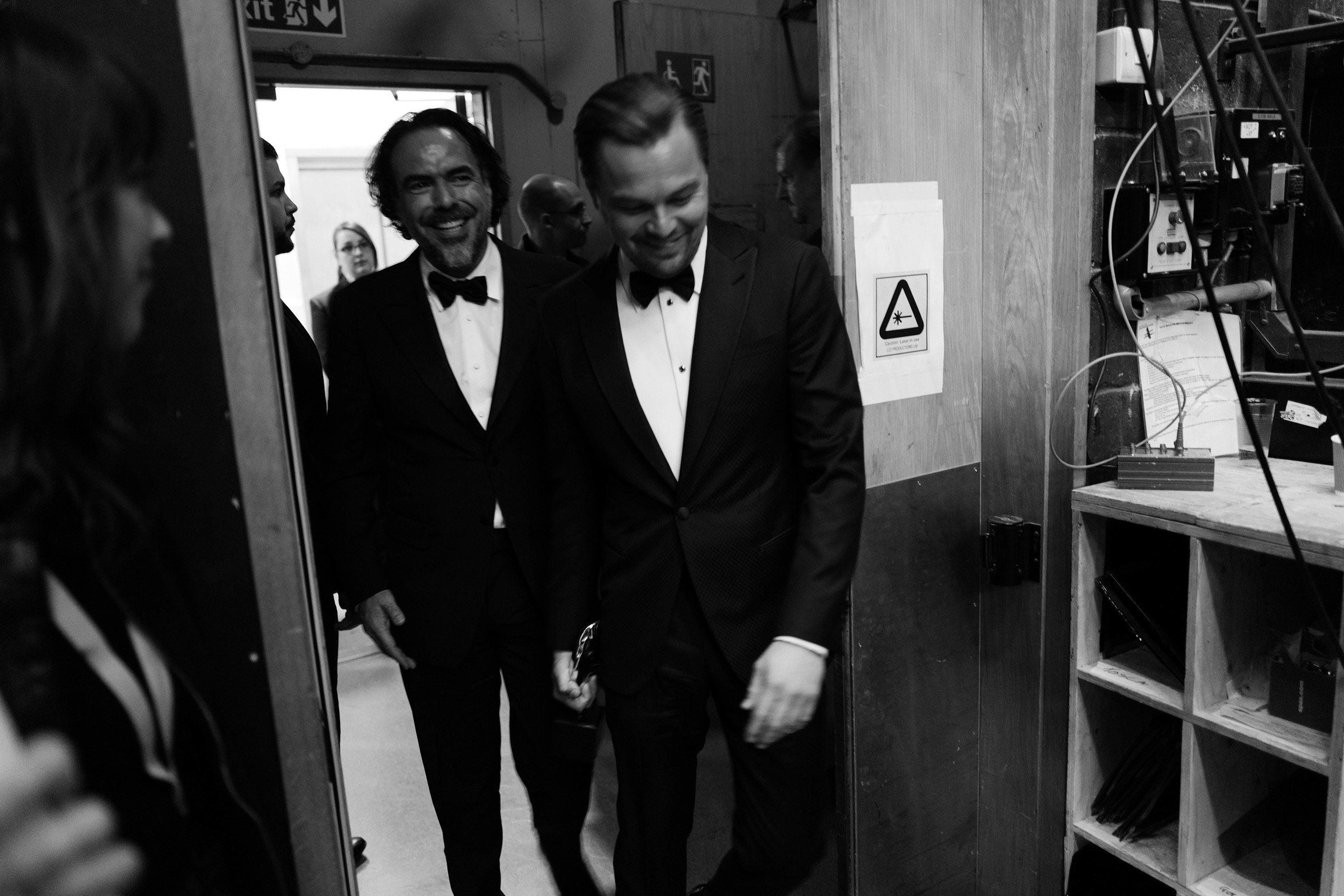 Inside the 2016 BAFTA Awards Leonardo dicaprio