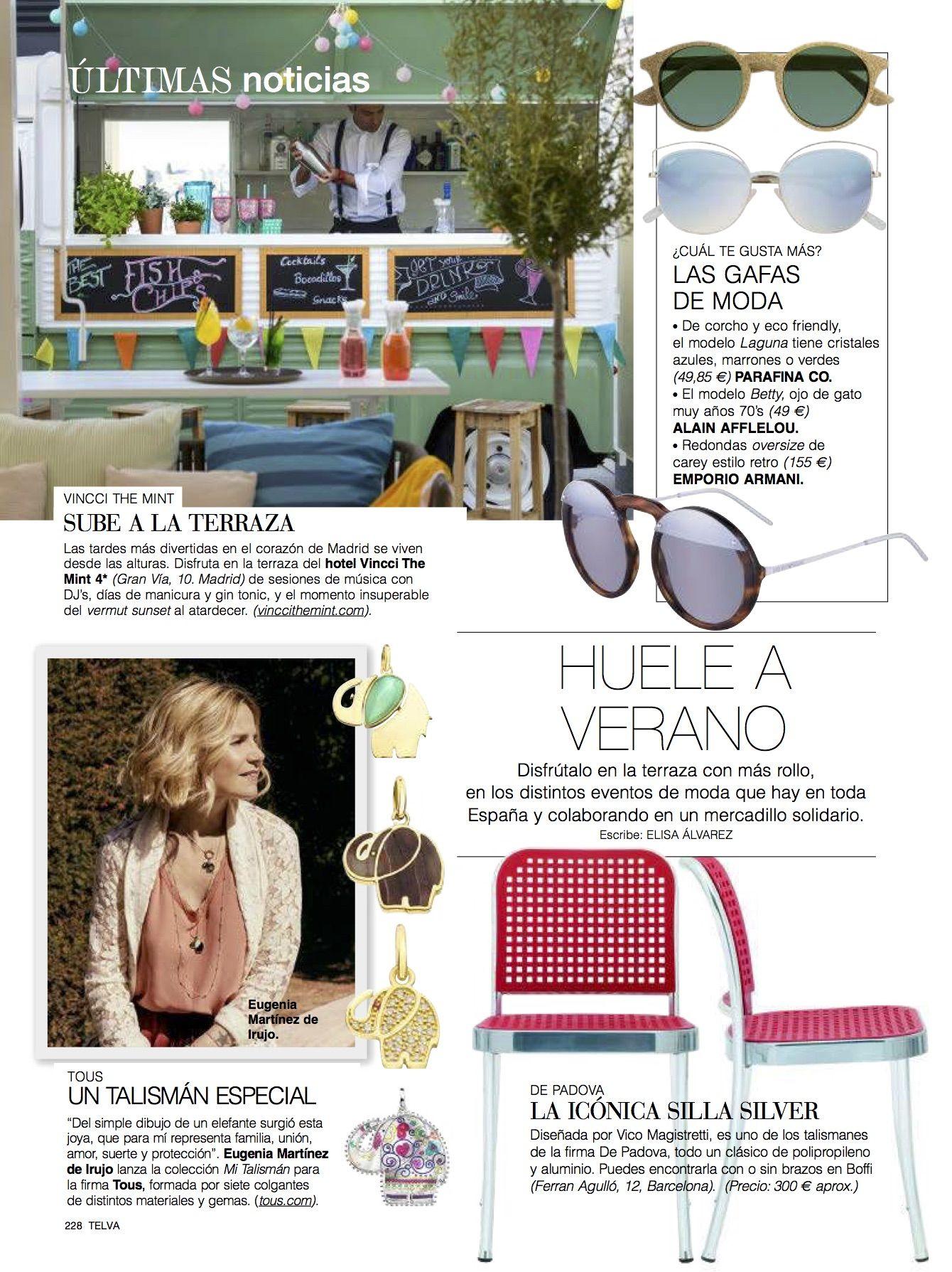 Vincci The Mint Vincci Press Room Revista Telva