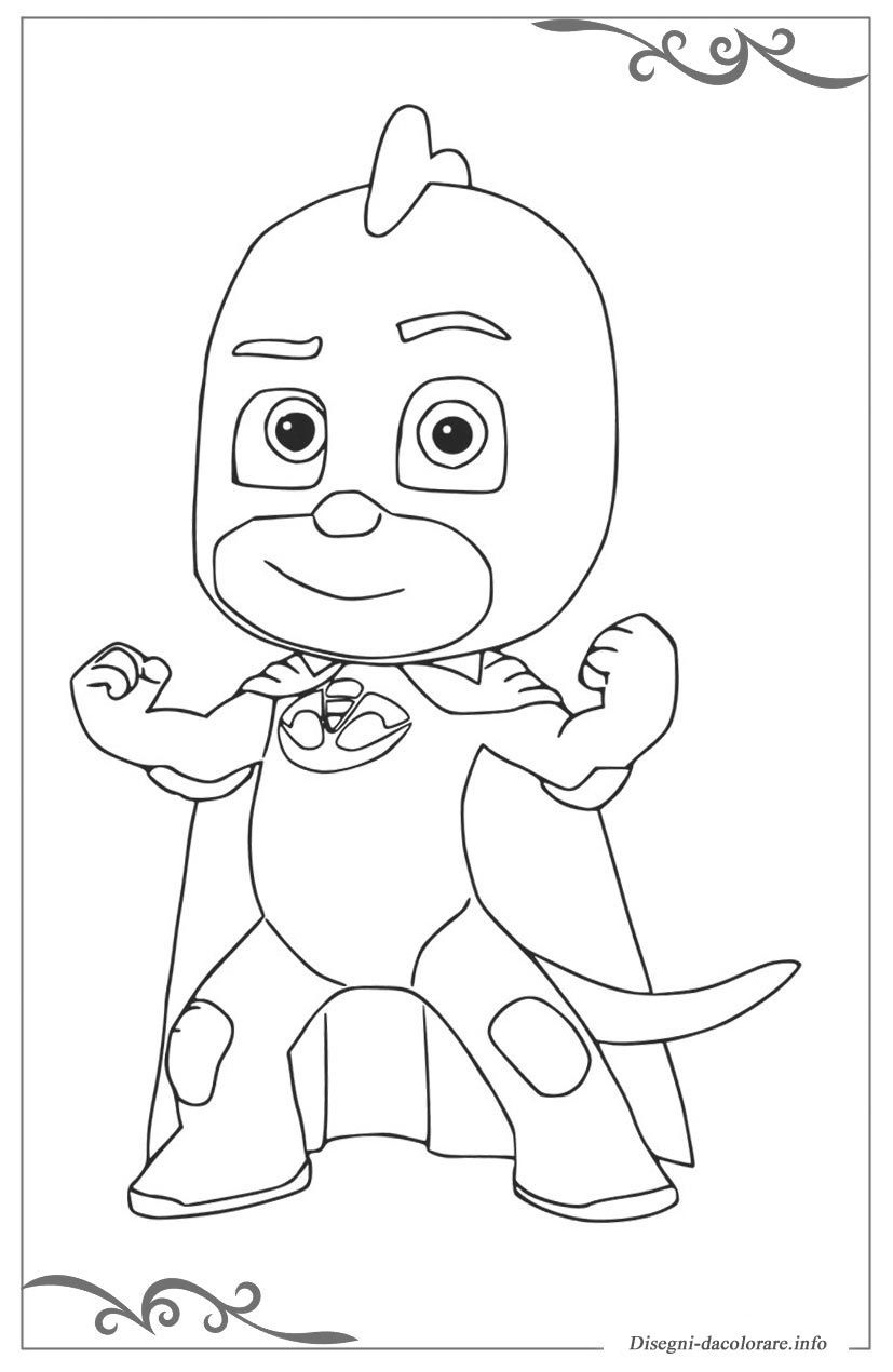 Risultati Immagini Per Pj Mask Da Colorare Bambini Pj Masks