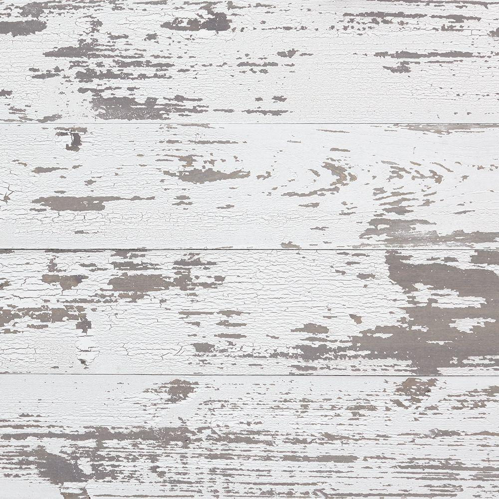 Timeline Wood 11 32 In X 5 5 In X 47 5 In Distressed White Wood Panels 6 Pack 00955 White Wood Wall White Wood Paneling Wood Panel Walls