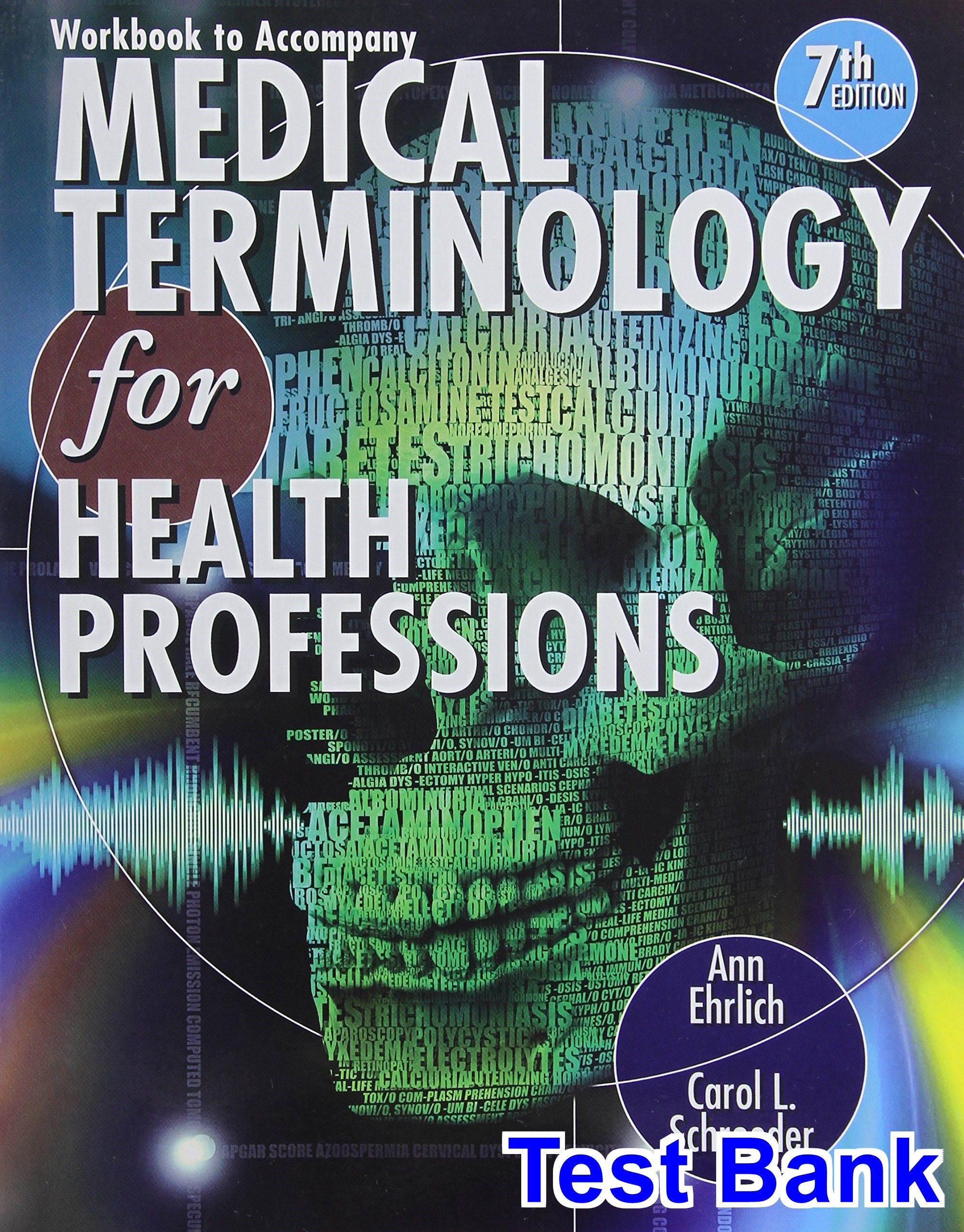 Medical Terminology for Health Professions 7th Edition Ehrlich Test ...