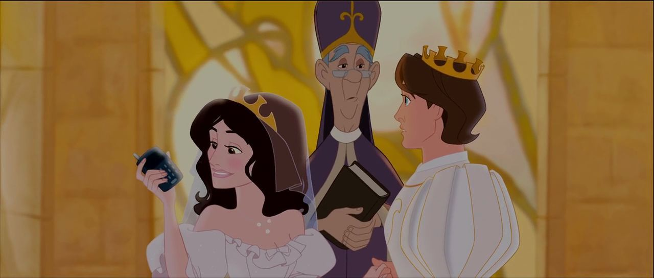 Princess Nancy and Prince Edward in Disney's Enchanted. In ...Enchanted Idina Menzel Animated