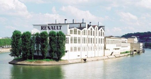 Ancienne usine Renault Boulogne Billancourt | Seguin, Renault,  Boulogne-billancourt