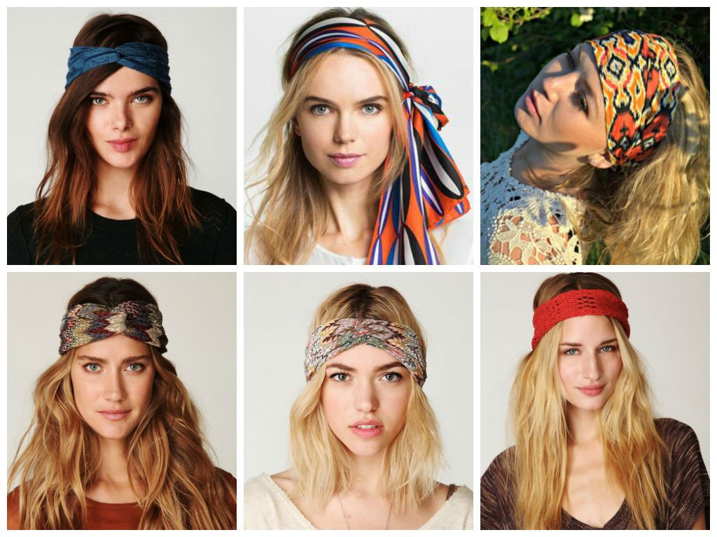Hairstyles With A Thick Headband Hair World Magazine Headband Hairstyles Boho Chic Hairstyles Thick Headbands