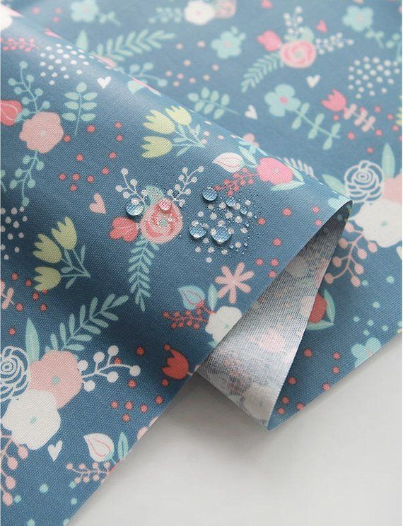 Laminated Cotton Fabric Laminated Flowers Fabric By The Yard 43