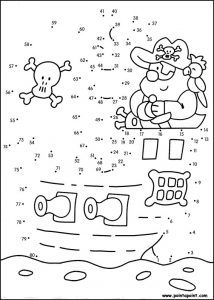 Coloriage Magique Cp Pirate.Points A Relier Pirate Printables For Kids Pirate Activities
