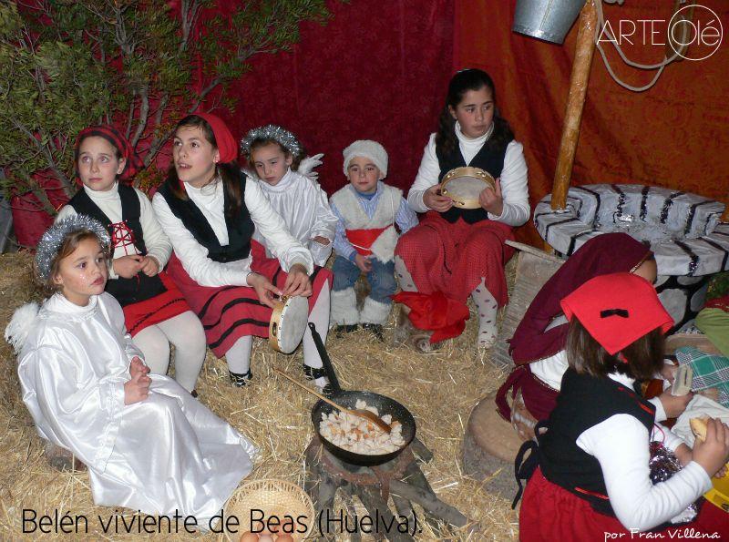 Belén Viviente De Beas Huelva Arteole Com