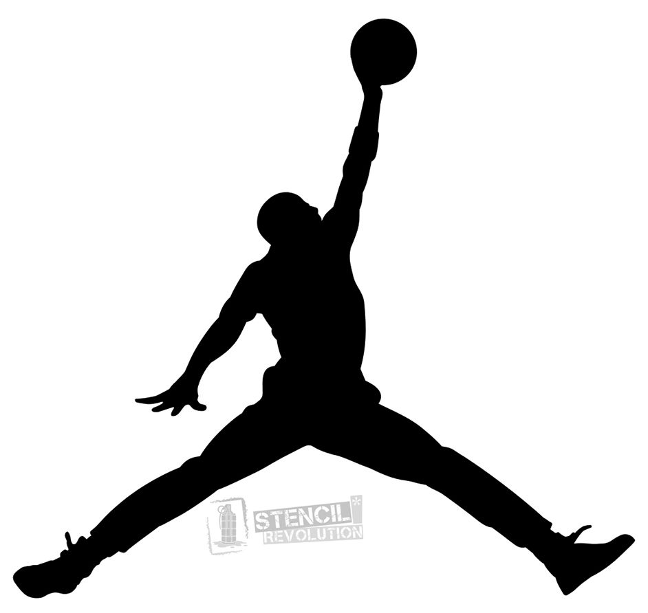 108c621b128 Download your free Air Jordan Stencil here. Save time and start your  project in minutes. Get printable stencils for art and designs.