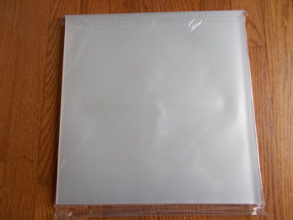 10 Qty Plastic Outer Sleeves Vinyl Record 12 Lp By Cellosandmore Vinyl Vinyl Records 10 Things