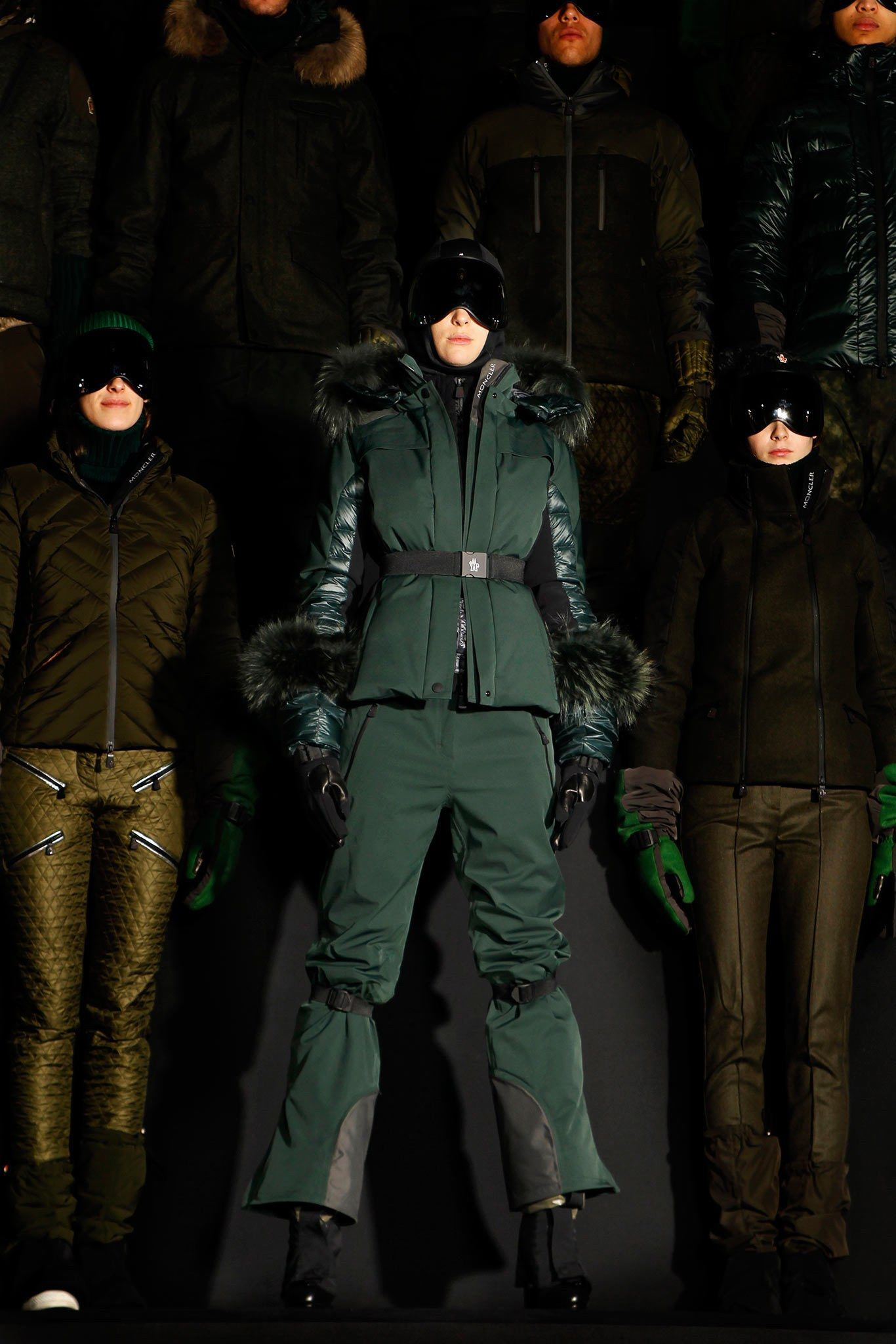 Moncler Grenoble Fall 2013 ReadytoWear Fashion Show