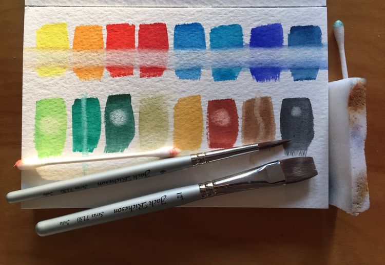 How To Fix Mistakes And Make Changes In Watercolor Painting