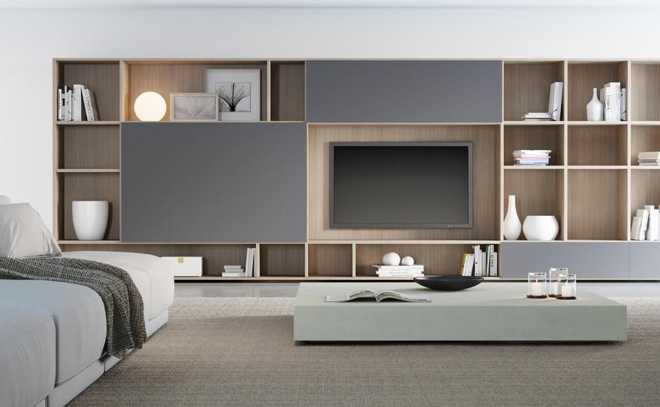 meuble rangement salon meuble mural salon