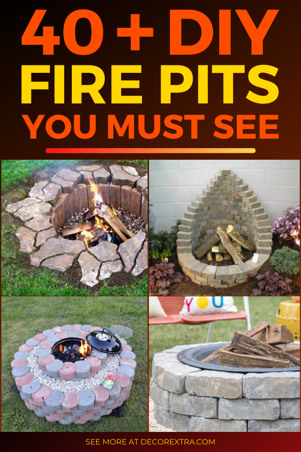40 Best Diy Fire Pit Ideas And Designs For 2020 Diy Fire Pit Cool Fire Pits Fire Pit Backyard