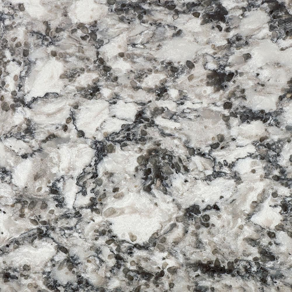 Lg Hausys Viatera 3 In X 3 In Quartz Countertop Sample In Oyster