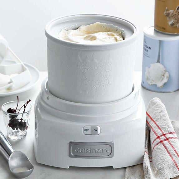 Cuisinart Ice Cream Maker With Extra Freezer Bowl Cuisinart Ice Cream Maker Cuisinart Ice Cream Best Ice Cream Maker