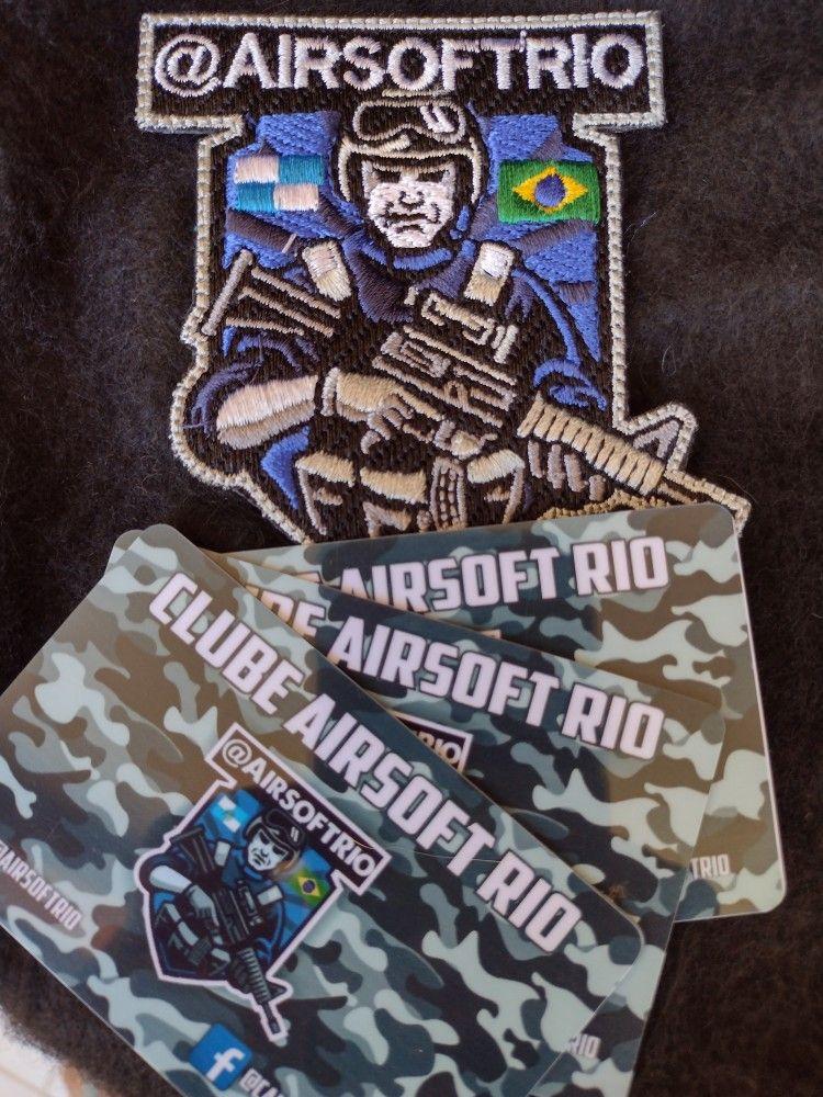 Kit Carteirinha De Operador De Airsoft Patch Bordado Em 2021 Airsoft Jogo Aberto Para Jogador