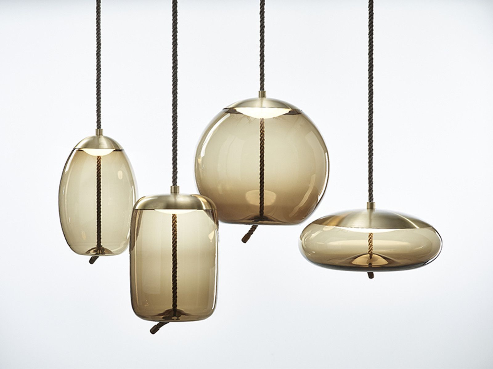 modern lighting concepts. The Knot Pendant Lights By Chiaramonte Marin For Czech Lighting Specialist Brokis Feature Brass And Glass. Modern Concepts