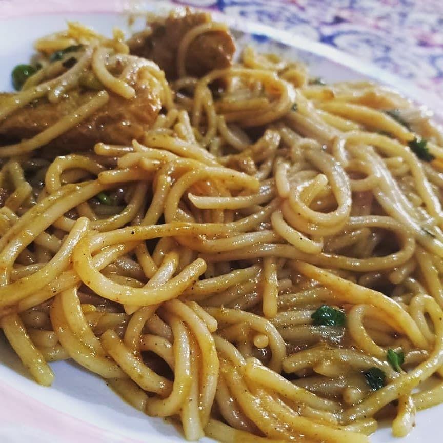 Chicken spaghetti @foodfusionpk @naushvlogs #foodislove #foodpics #foodstagram #
